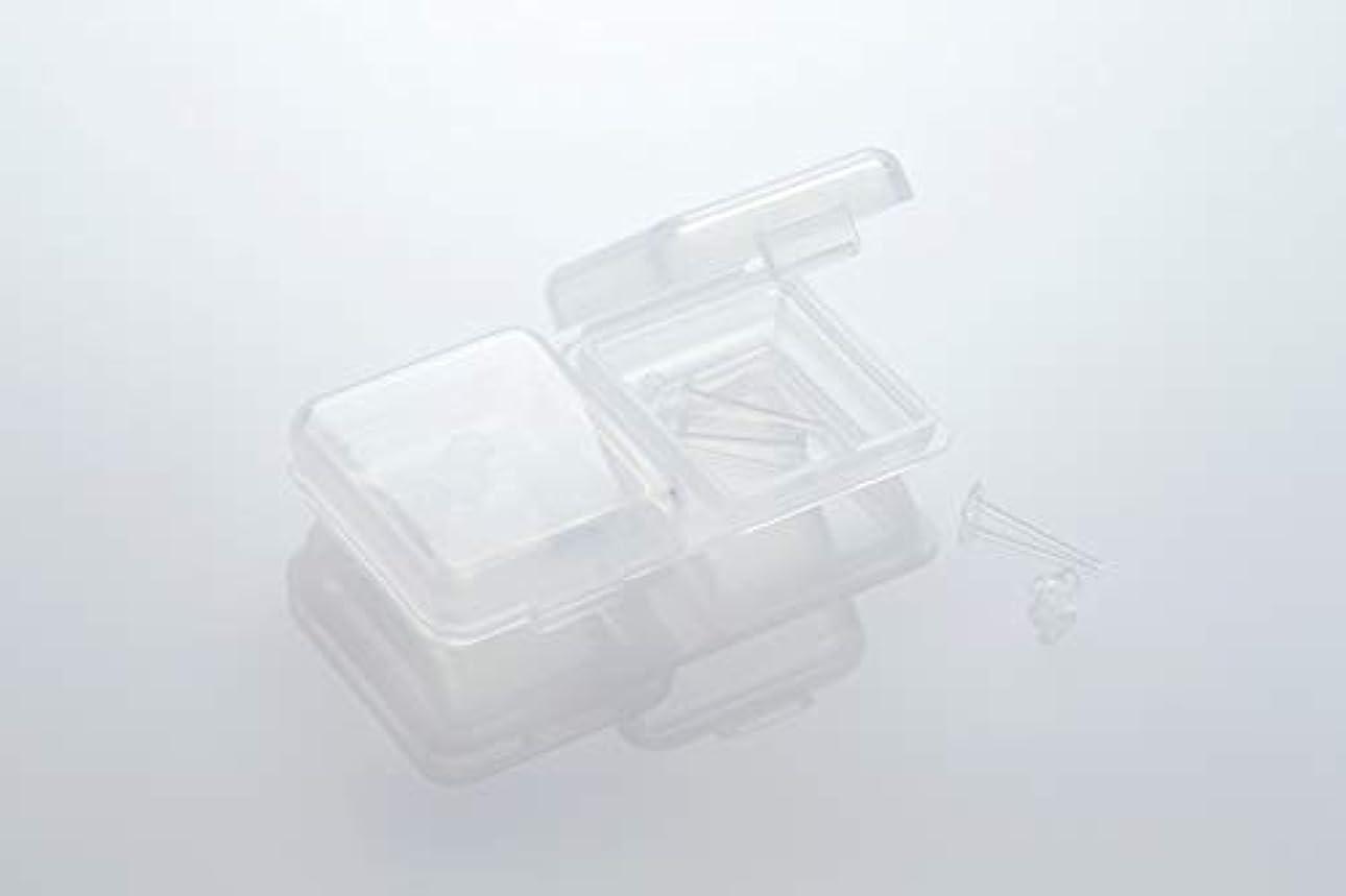 あごひげピカリング神社[ワンダーワークス] WONDERWORKS 医療用樹脂製 シークレットピアス リメイン 金属アレルギーフリー 2ペア W20006
