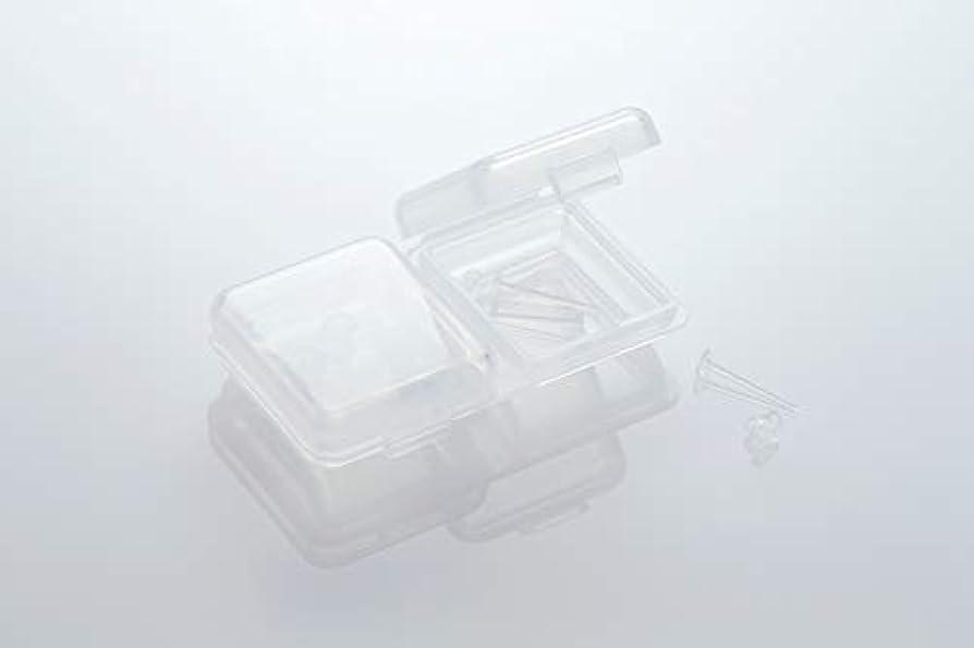 城消費する他のバンドで[ワンダーワークス] WONDERWORKS 医療用樹脂製 シークレットピアス リメイン 金属アレルギーフリー 2ペア W20006