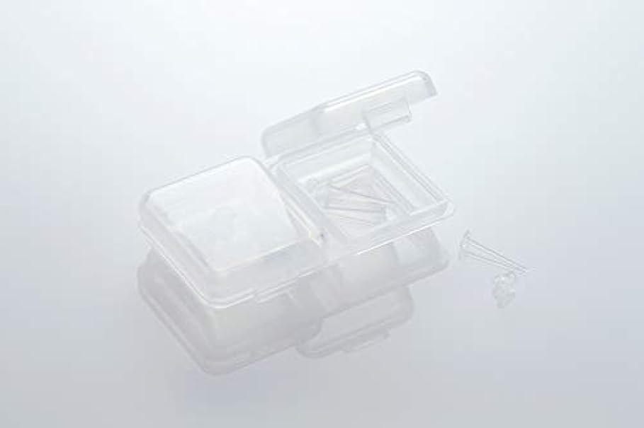 天皇スキャンダル超音速[ワンダーワークス] WONDERWORKS 医療用樹脂製 シークレットピアス リメイン 金属アレルギーフリー 2ペア W20006