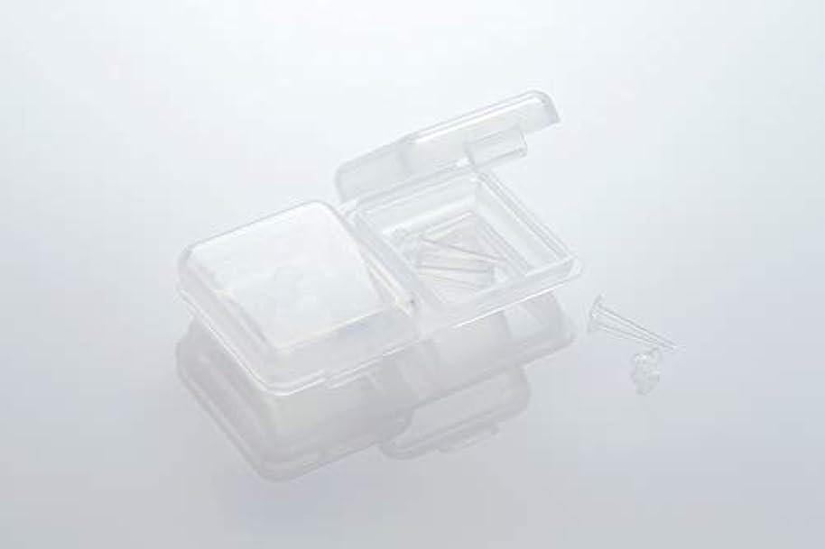 支店動脈報奨金[ワンダーワークス] WONDERWORKS 医療用樹脂製 シークレットピアス リメイン 金属アレルギーフリー 2ペア W20006