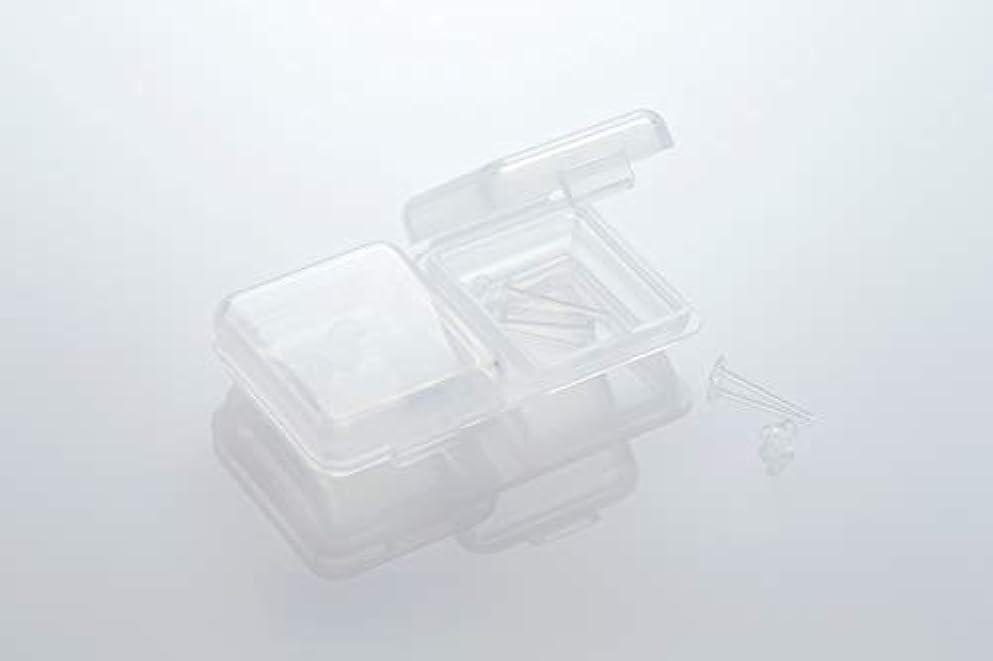 ペルメル荒れ地維持する[ワンダーワークス] WONDERWORKS 医療用樹脂製 シークレットピアス リメイン 金属アレルギーフリー 2ペア W20006