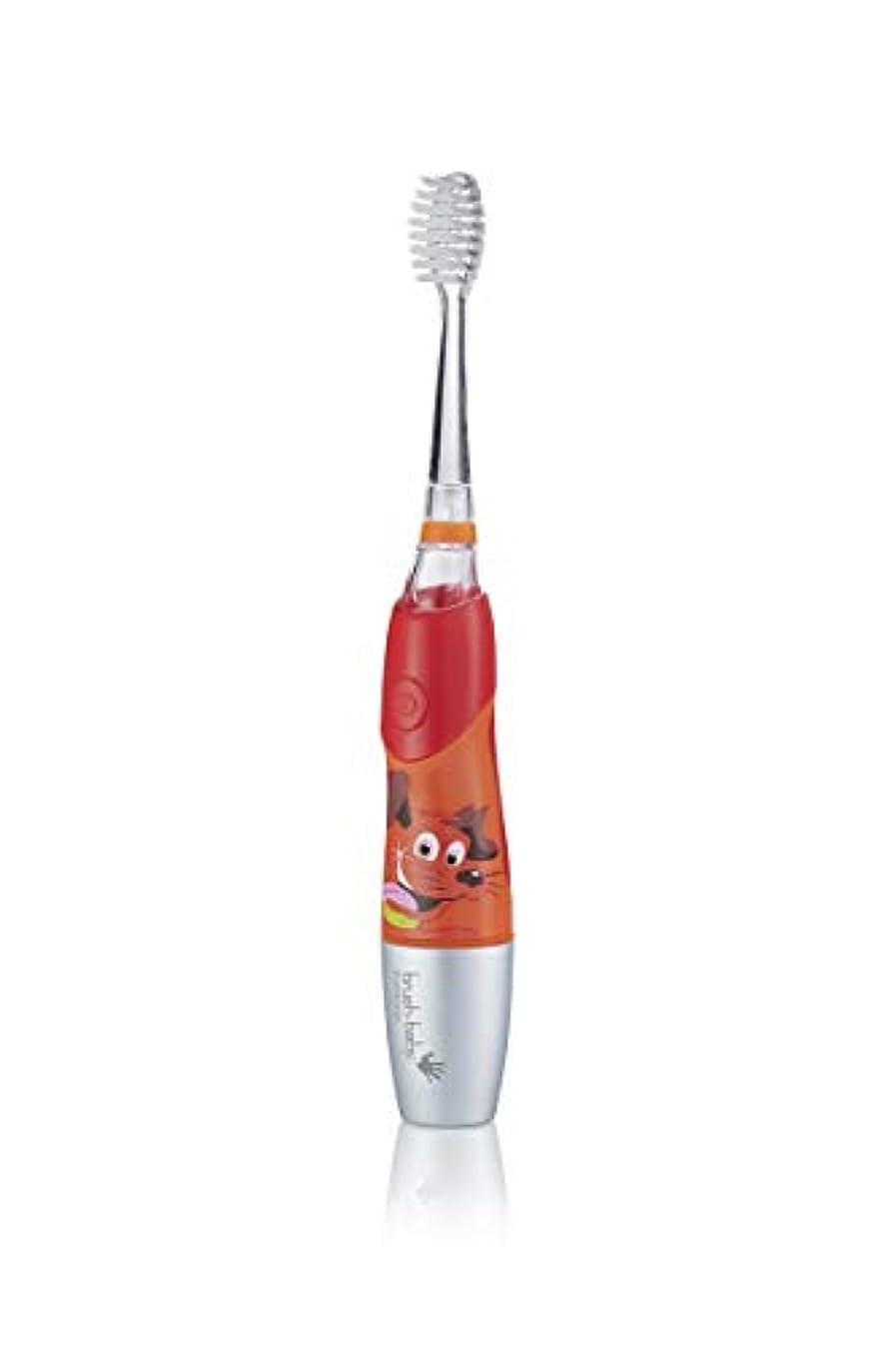 利点怠惰控えるBrush-Baby KidzSonic Electric Toothbrush 6+ years with flashing disco lights - ブラシ - ベイビーKidzSonic電動歯ブラシ6年以上のディスコライトの点滅