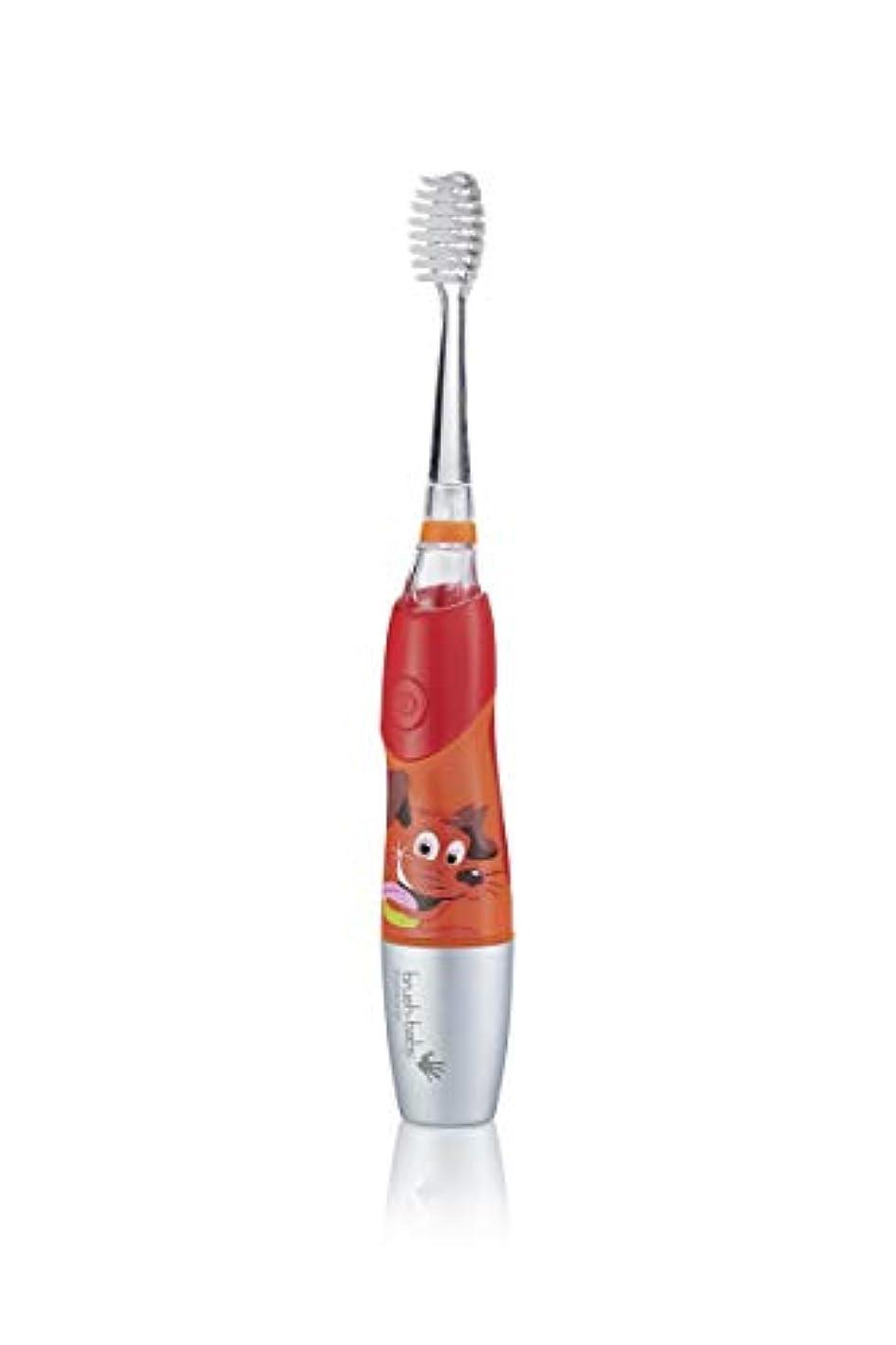 より平らなスーパー輪郭Brush-Baby KidzSonic Electric Toothbrush 6+ years with flashing disco lights - ブラシ - ベイビーKidzSonic電動歯ブラシ6年以上のディスコライトの点滅
