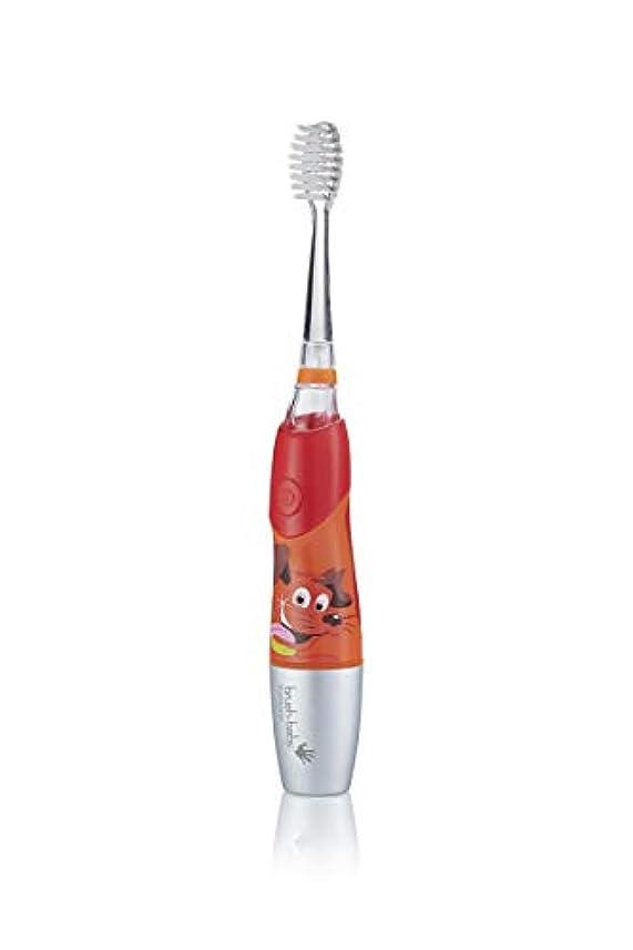 大惨事ぬいぐるみ予感Brush-Baby KidzSonic Electric Toothbrush 6+ years with flashing disco lights - ブラシ - ベイビーKidzSonic電動歯ブラシ6年以上のディスコライトの点滅