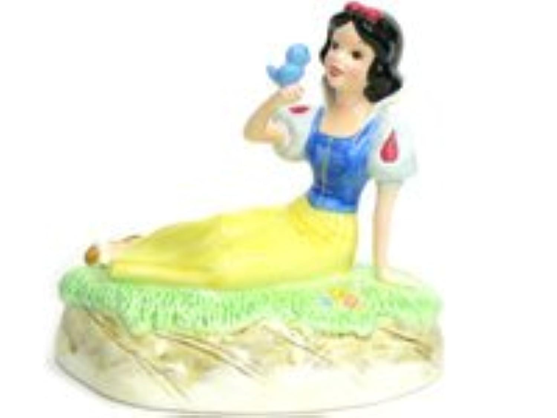 白雪姫 ポーセリン オルゴールつき フィギュア Schmid社 ディズニー フィギュアリン