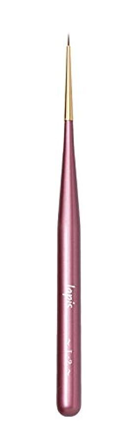豊かにする風景論争【Amazon.co.jp限定】Lapis ジェルネイルブラシ ライナーショート L-2(ピンク)