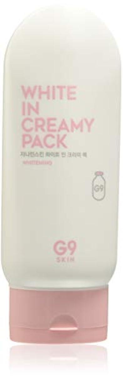 加害者保育園補うG9SKIN(ベリサム) White In Creamy Pack 200ml ホワイト イン クリーミーパック