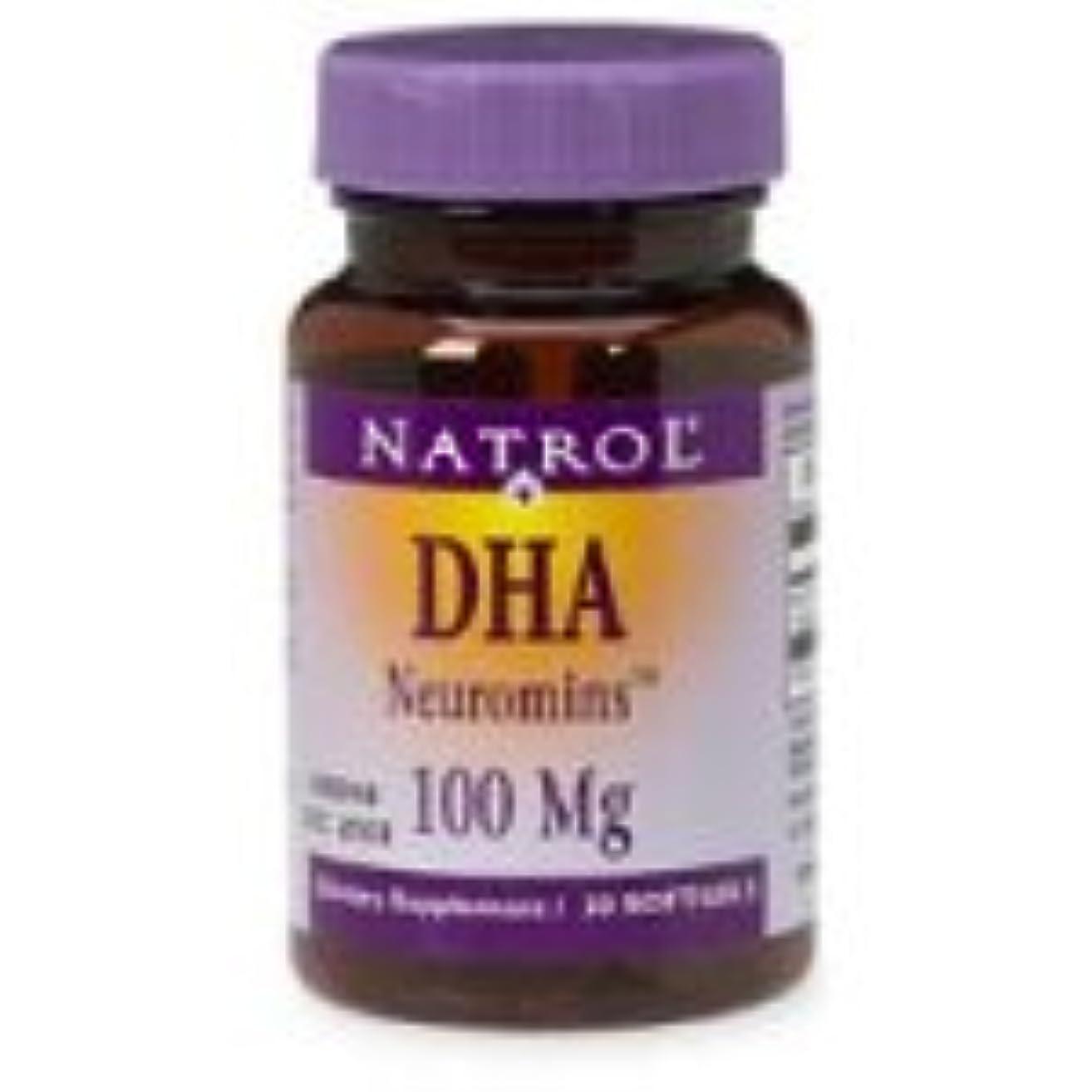 魚抗生物質アカデミック海外直送品 Natrol (incl Laci Le Beau Teas) DHA, 30 Sftgls 100 MG