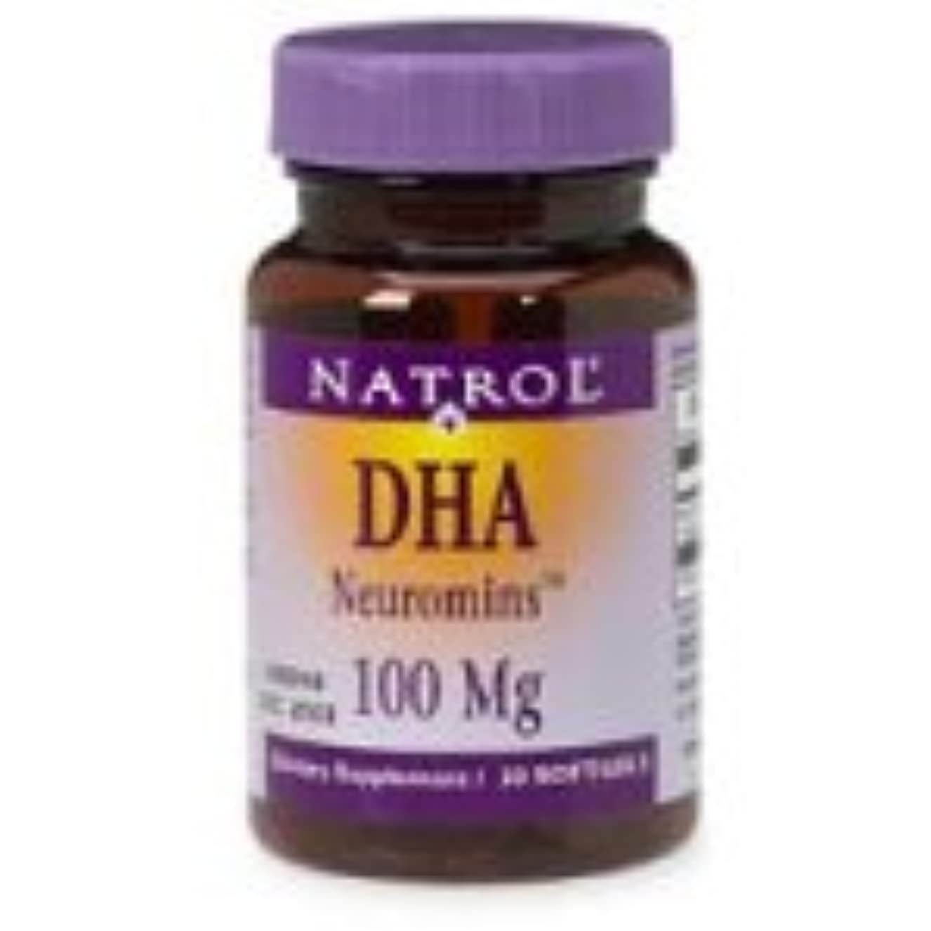 クラフト心理的教海外直送品 Natrol (incl Laci Le Beau Teas) DHA, 30 Sftgls 100 MG