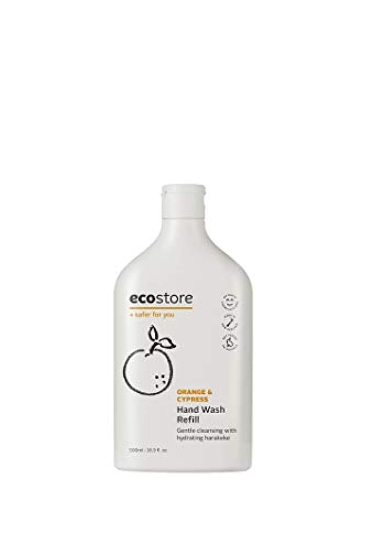 ウェイター提出する証人ecostore(エコストア) ハンドウォッシュ 【オレンジ&サイプレス】 500mL 詰め替え用 液体タイプ