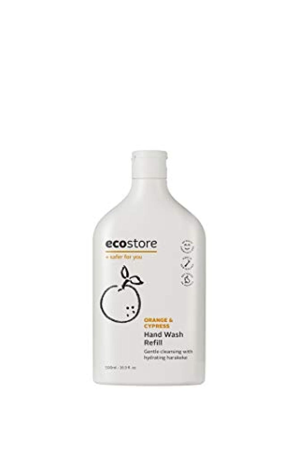 ご飯ありふれたネイティブecostore(エコストア) ハンドウォッシュ 【オレンジ&サイプレス】 500ml 詰め替え用 液体タイプ