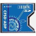 I-O DATA CFSD-ADP SDカード&MMC用コンパクトフラッシュアダプタ