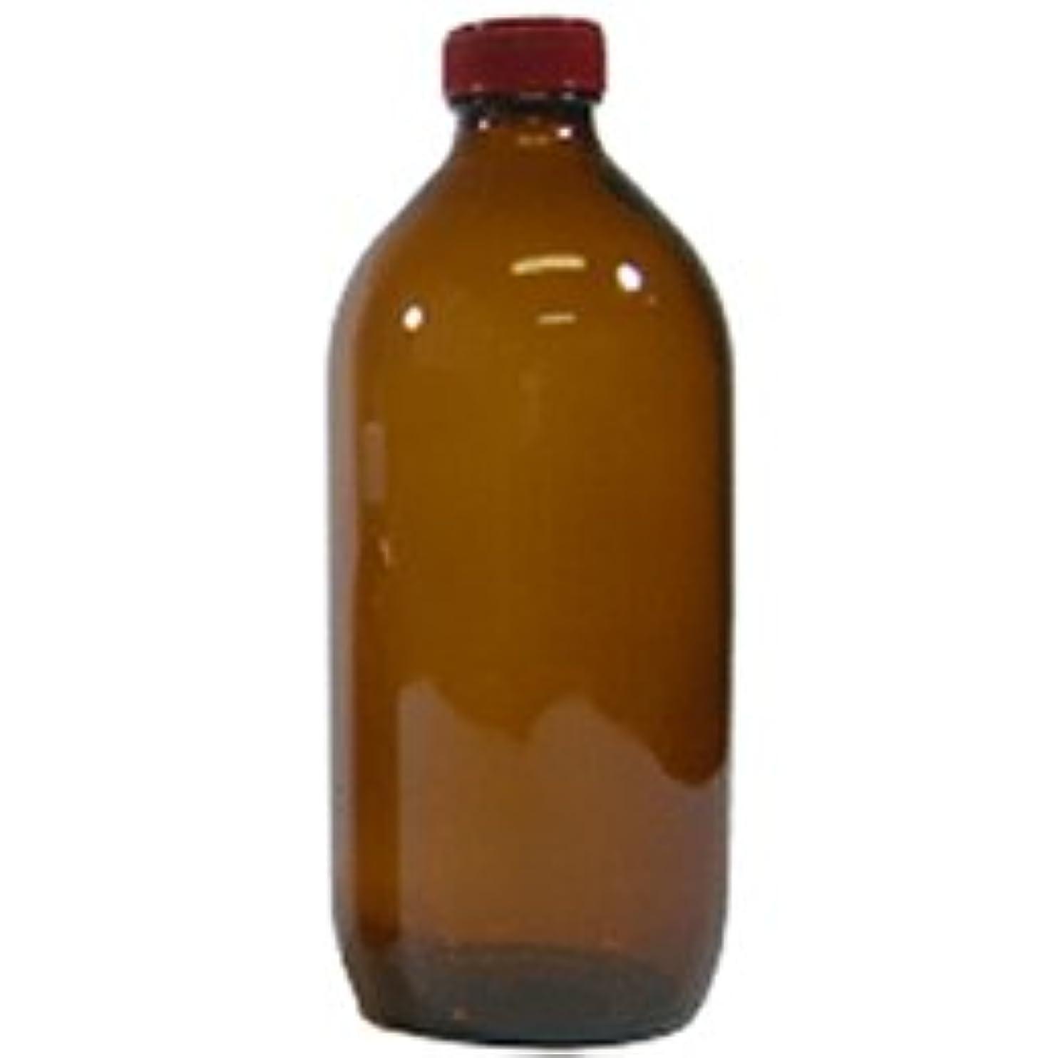 インペリアルオレンジ犠牲遮光ビン 500ml (中栓付)