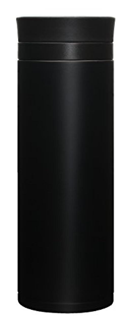 不適当秘密の並外れたATLAS(アトラス) 水筒 500ml ステンレスボトル マグボトル ブラック ACN-500BK