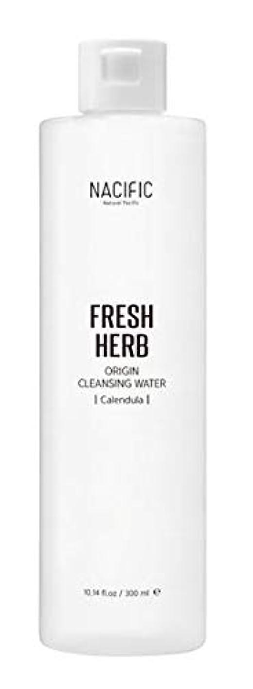 頭ヘッジ傷つきやすい[ Nacific ] Fresh Herb Origin Cleansing Water 300ml / [ ナシフィック ] フレッシュ ハーブ オリジン クレンジングウォーター 300ml [並行輸入品]