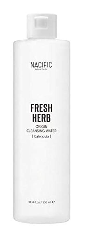 欲しいです違う検出器[ Nacific ] Fresh Herb Origin Cleansing Water 300ml / [ ナシフィック ] フレッシュ ハーブ オリジン クレンジングウォーター 300ml [並行輸入品]