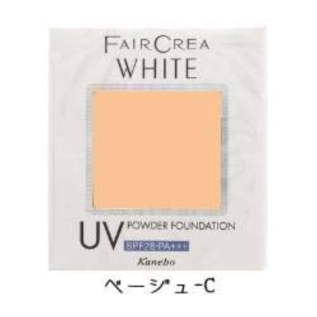 白内障コートまたカネボウ フェアクレア ホワイトUVパウダーファンデーション ベージュ-C(10g)