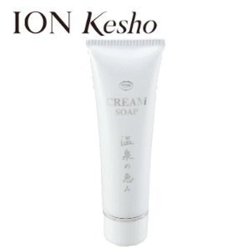 疲れた逆着陸ION Kesho/イオン化粧品 クリームソープ 120g 美容 スキンケア