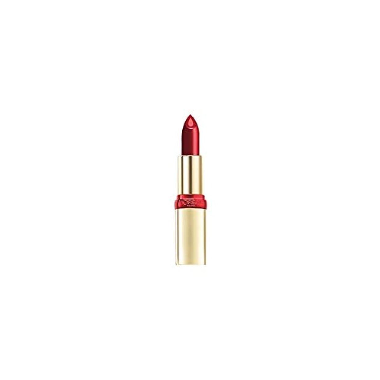 芸術やさしく機動L' OREAL Rouge à Lévres Color Riche Sérum Anti Age 503 Bright Burgundy