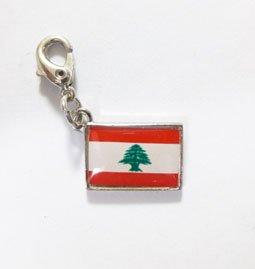 NATIONALFLAG 国旗柄ファスナーホルダー レバノン