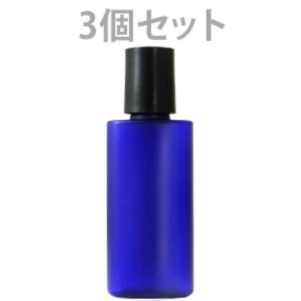 ブリリアントピュー教師の日遮光ミニプラボトル容器 20ml (青) (3個セット)