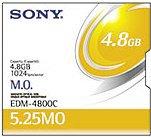SONY EDM-4800C 5.25MOディスク