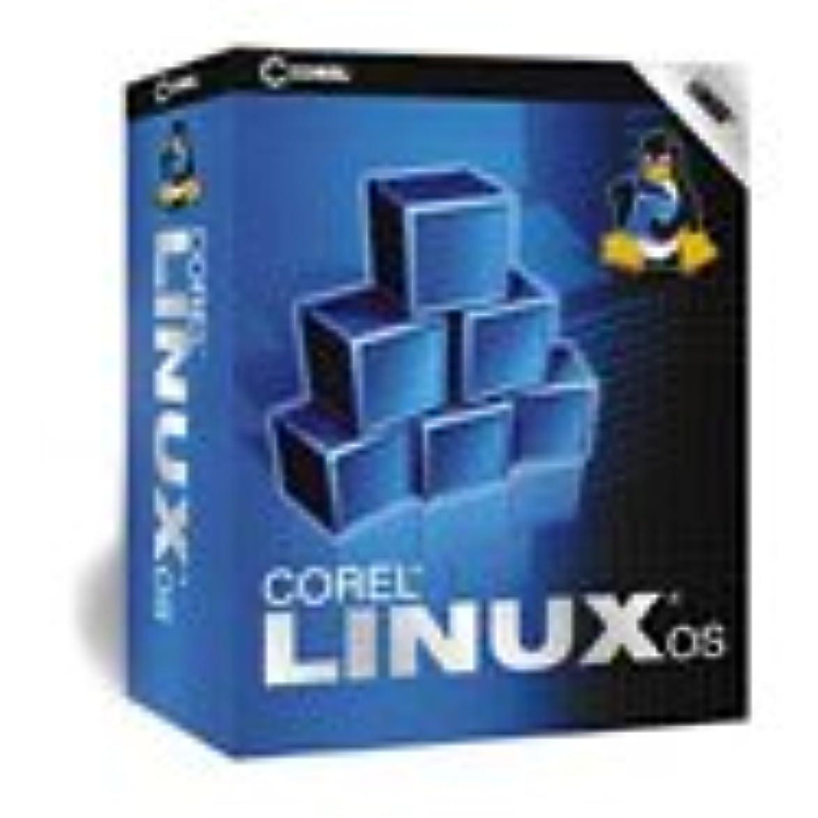 郵便物継続中壁紙Corel Linux 英語版