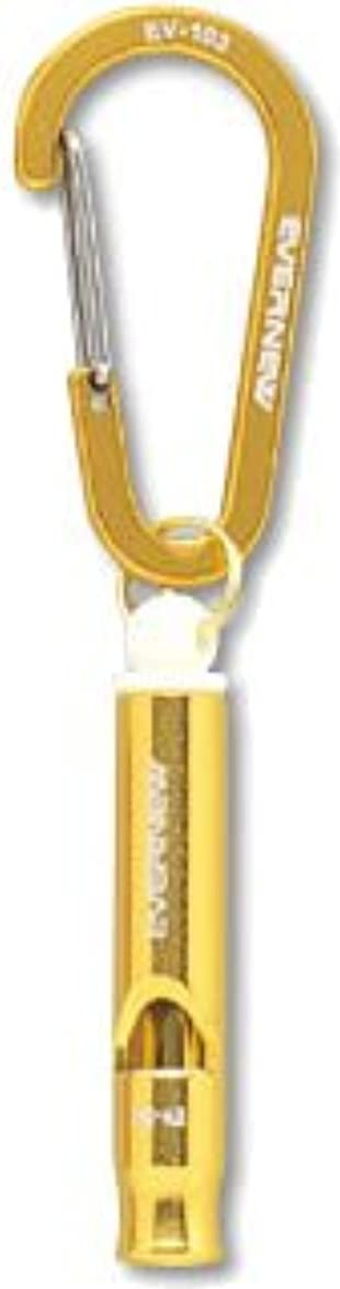 かもめキリスト教大洪水エバニュー(EVERNEW) ホイッスル501 ゴールド(420) EBY541
