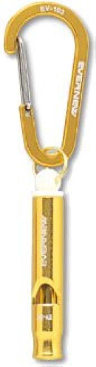 マージン狂気太陽エバニュー(EVERNEW) ホイッスル501 ゴールド(420) EBY541