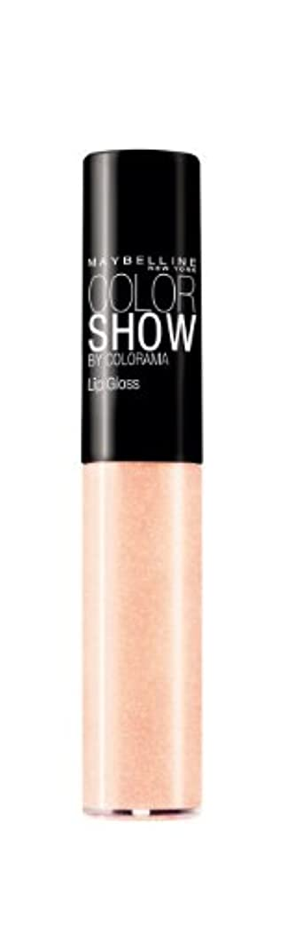 突き出す正当化するメンダシティMaybelline Color Show Lip Gloss 160 White Glitz