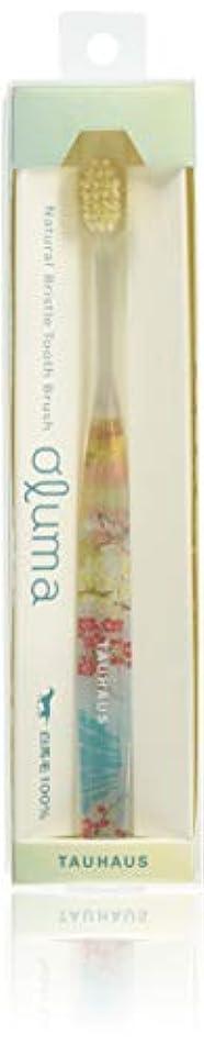 合図亜熱帯配るOluma 白馬毛歯ブラシ(新春)