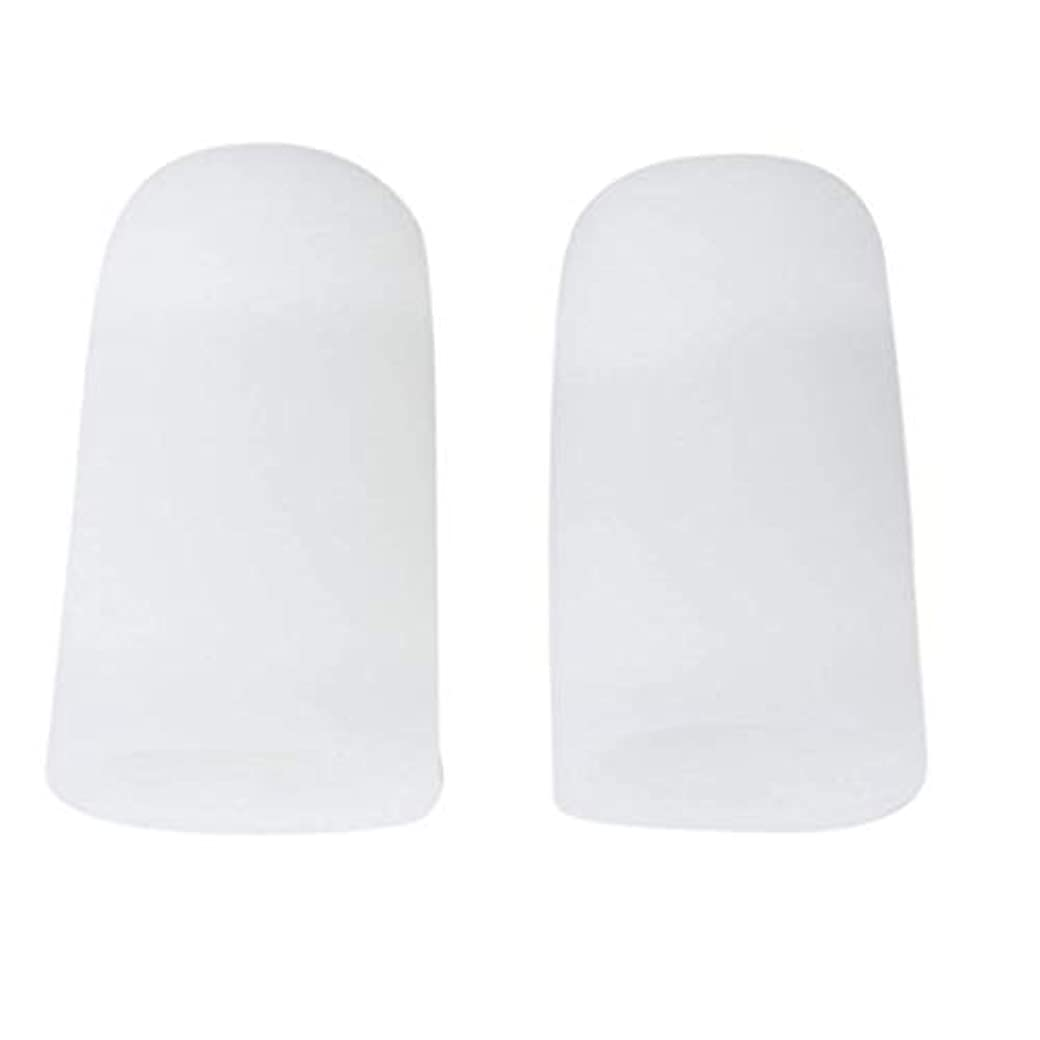 でもフライカイトヘビーTSUCIA 足指保護キャップ つま先プロテクター 足先のつめ保護キャップ シリコン (M)