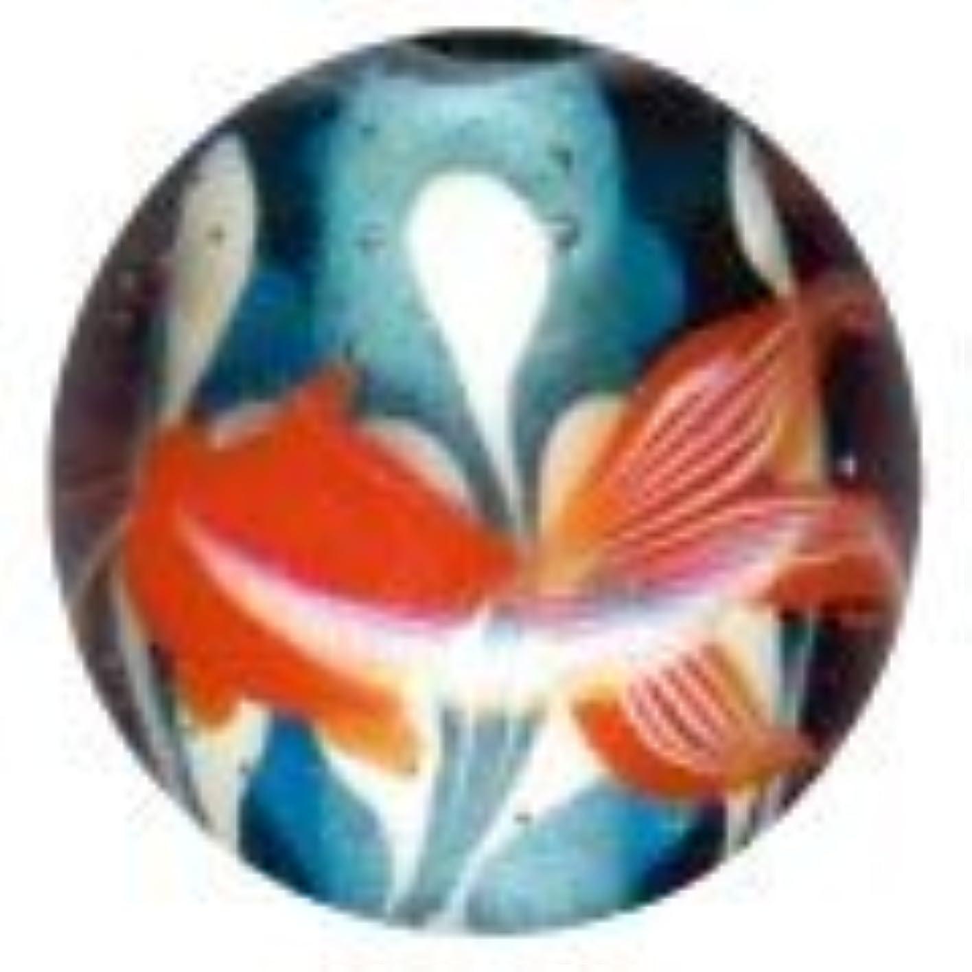 予感技術的なモネとんぼ玉 金魚