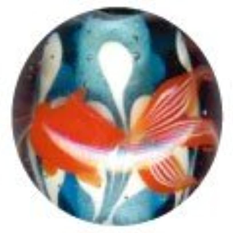 小康粘着性スカウトとんぼ玉 金魚