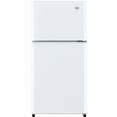 ハイアール 106L 2ドア冷蔵庫(直冷式)ホワイト【右開き】Haier JR-N106H(W)