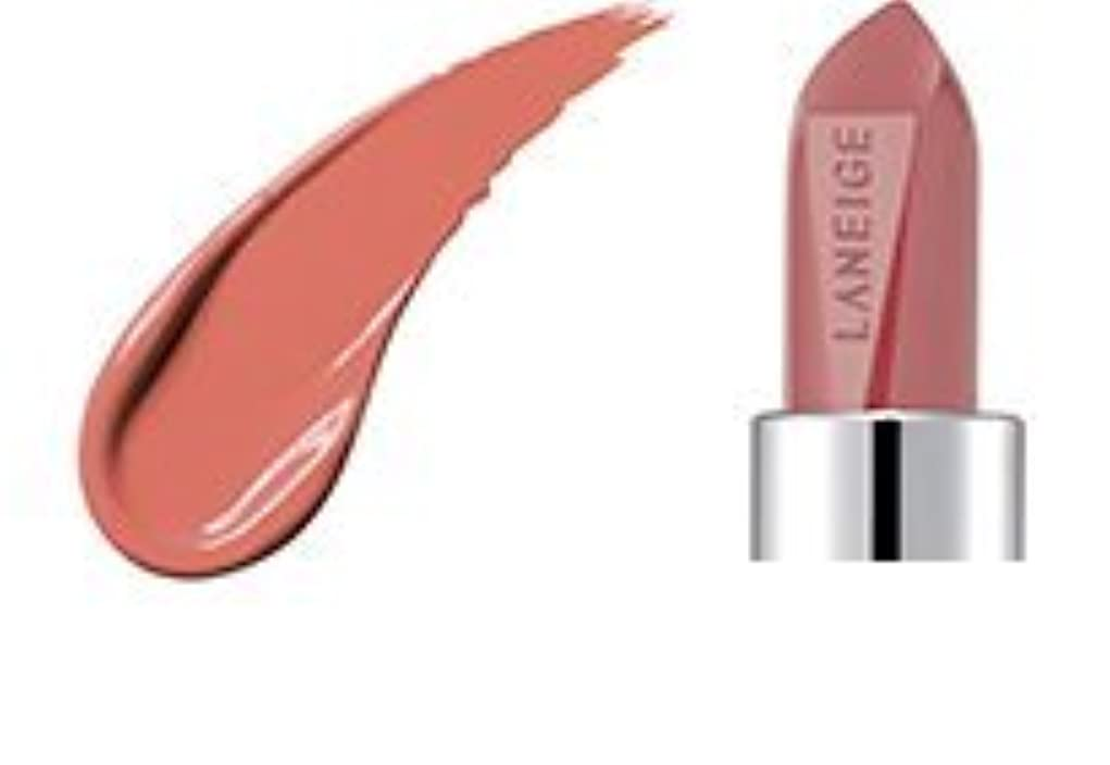 徐々に半島チロ[2017 Renewal] LANEIGE Silk Intense Lipstick 3.5g/ラネージュ シルク インテンス リップスティック 3.5g (#401 Beige Chiffon) [並行輸入品]