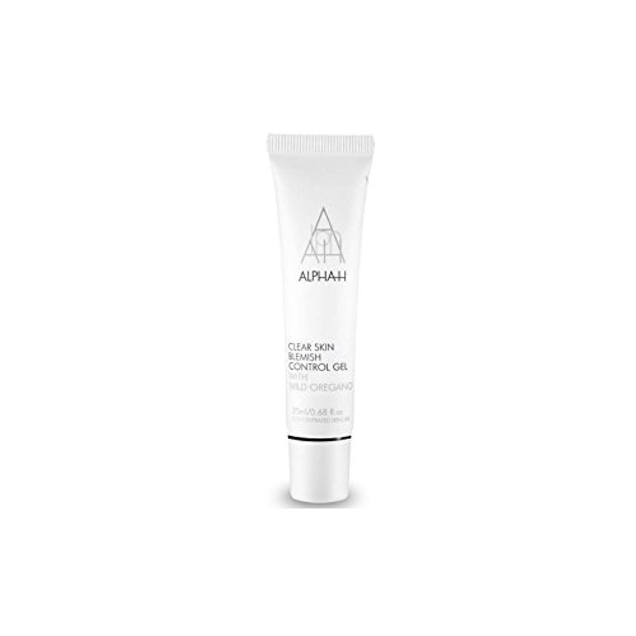 すぐに自発的子音Alpha-H Clear Skin Blemish Control Gel (20ml) (Pack of 6) - アルファクリア皮膚傷制御ゲル(20)中 x6 [並行輸入品]