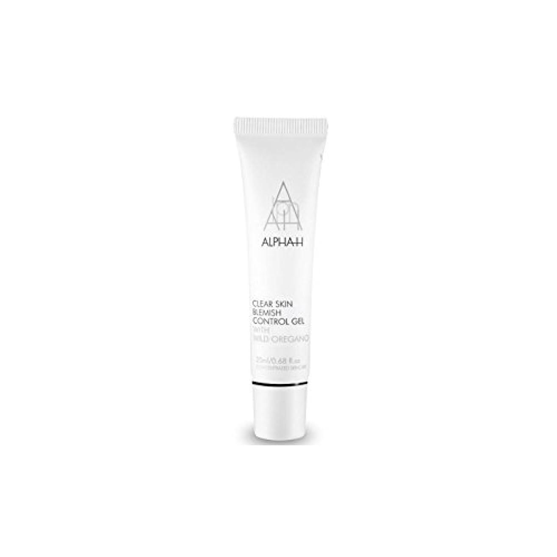 類人猿そこ養うAlpha-H Clear Skin Blemish Control Gel (20ml) (Pack of 6) - アルファクリア皮膚傷制御ゲル(20)中 x6 [並行輸入品]