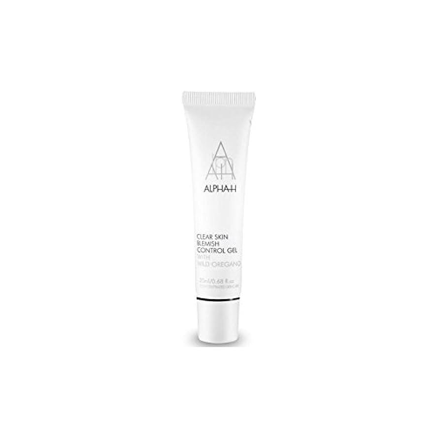 住居勘違いする想像するアルファクリア皮膚傷制御ゲル(20)中 x4 - Alpha-H Clear Skin Blemish Control Gel (20ml) (Pack of 4) [並行輸入品]