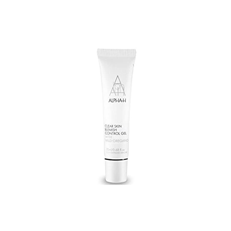 メジャー統治可能周辺Alpha-H Clear Skin Blemish Control Gel (20ml) (Pack of 6) - アルファクリア皮膚傷制御ゲル(20)中 x6 [並行輸入品]