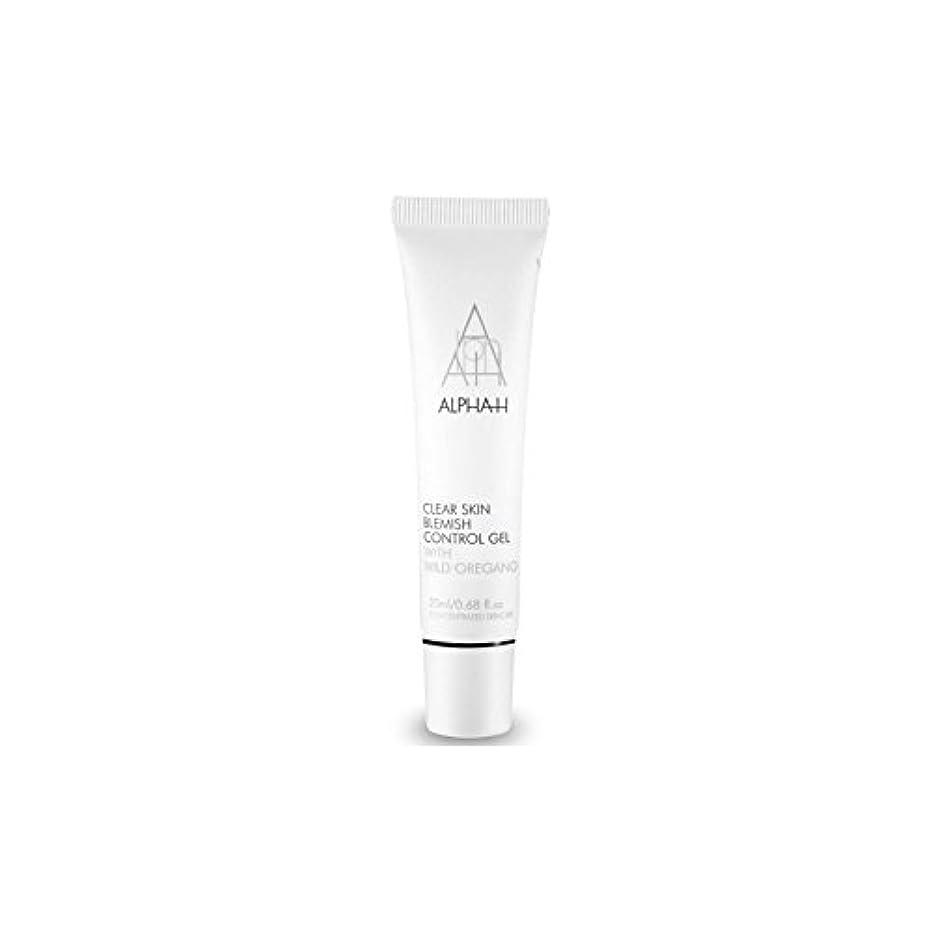 薬局なぜシュリンクAlpha-H Clear Skin Blemish Control Gel (20ml) (Pack of 6) - アルファクリア皮膚傷制御ゲル(20)中 x6 [並行輸入品]