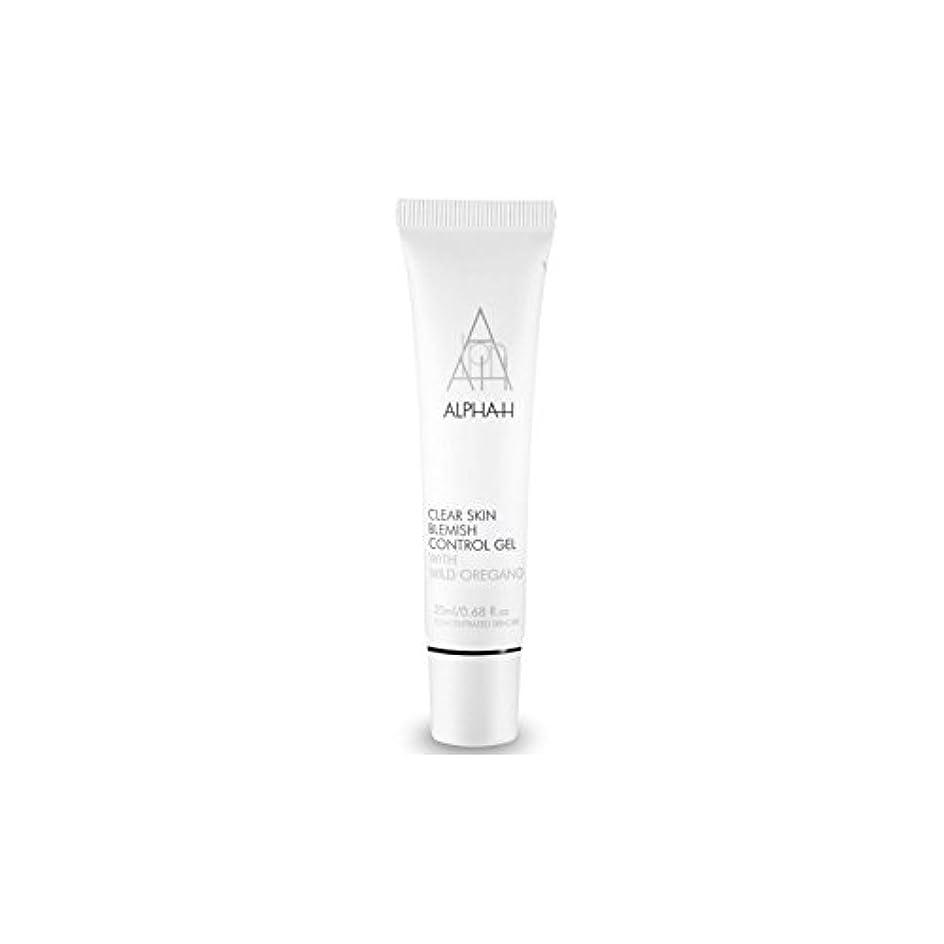 テーブル無駄な再びAlpha-H Clear Skin Blemish Control Gel (20ml) (Pack of 6) - アルファクリア皮膚傷制御ゲル(20)中 x6 [並行輸入品]