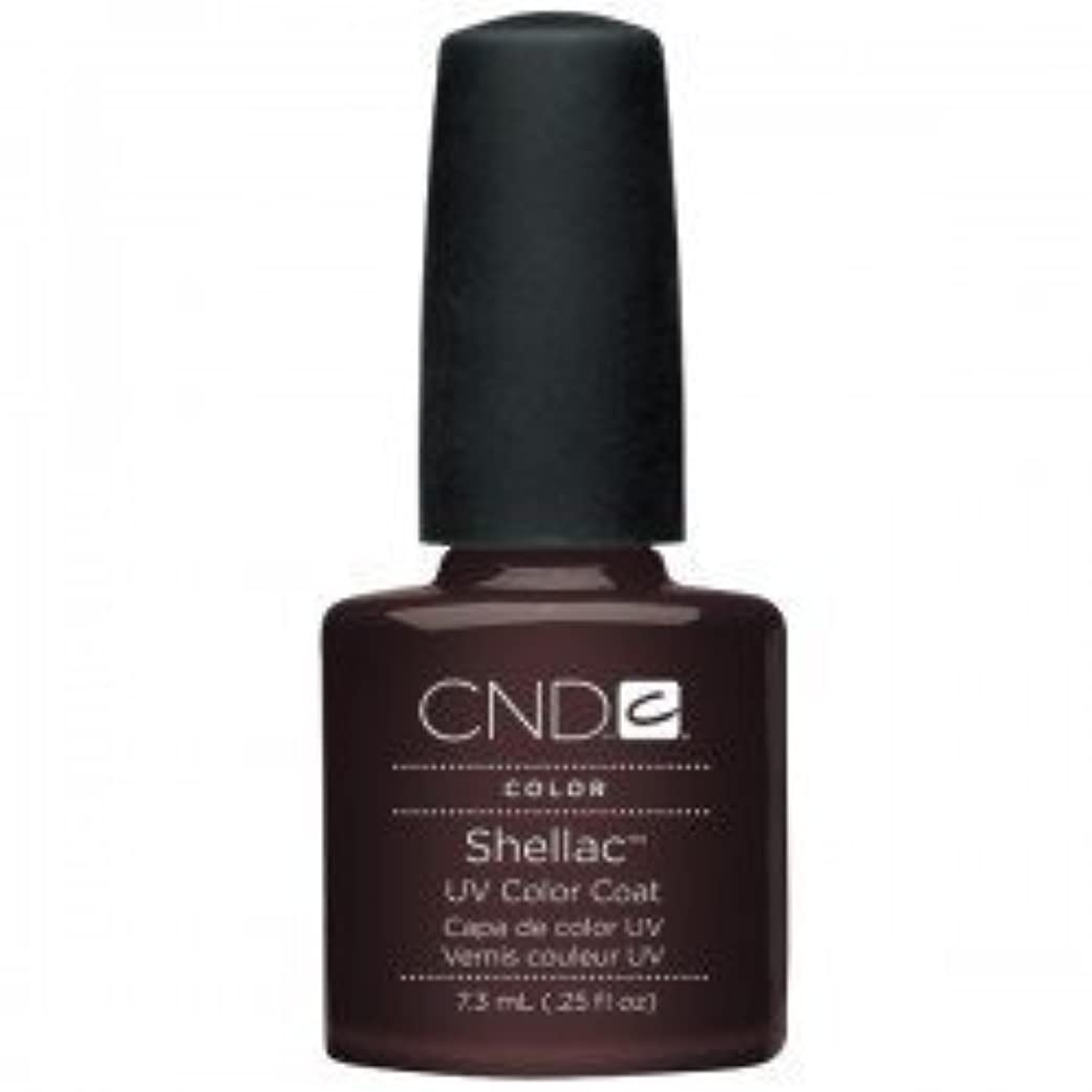 ほこり不機嫌そうなバーターNew CND Creative Shellac UV3 Nail Power Polish - Fedora 7.3ml by CND Creative Nail Designs