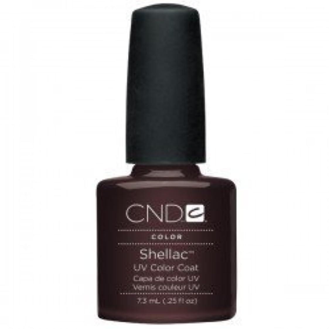 リフト真面目な砂利New CND Creative Shellac UV3 Nail Power Polish - Fedora 7.3ml by CND Creative Nail Designs