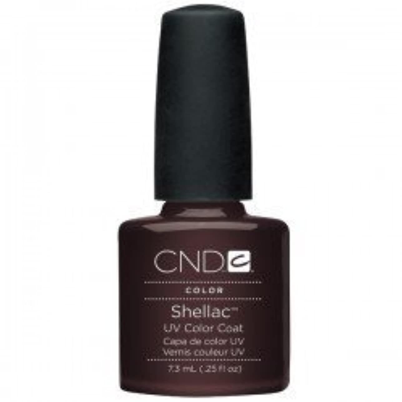 資源純粋に上院New CND Creative Shellac UV3 Nail Power Polish - Fedora 7.3ml by CND Creative Nail Designs