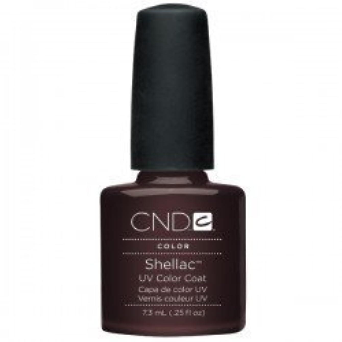 マトリックス引き渡すマネージャーNew CND Creative Shellac UV3 Nail Power Polish - Fedora 7.3ml by CND Creative Nail Designs