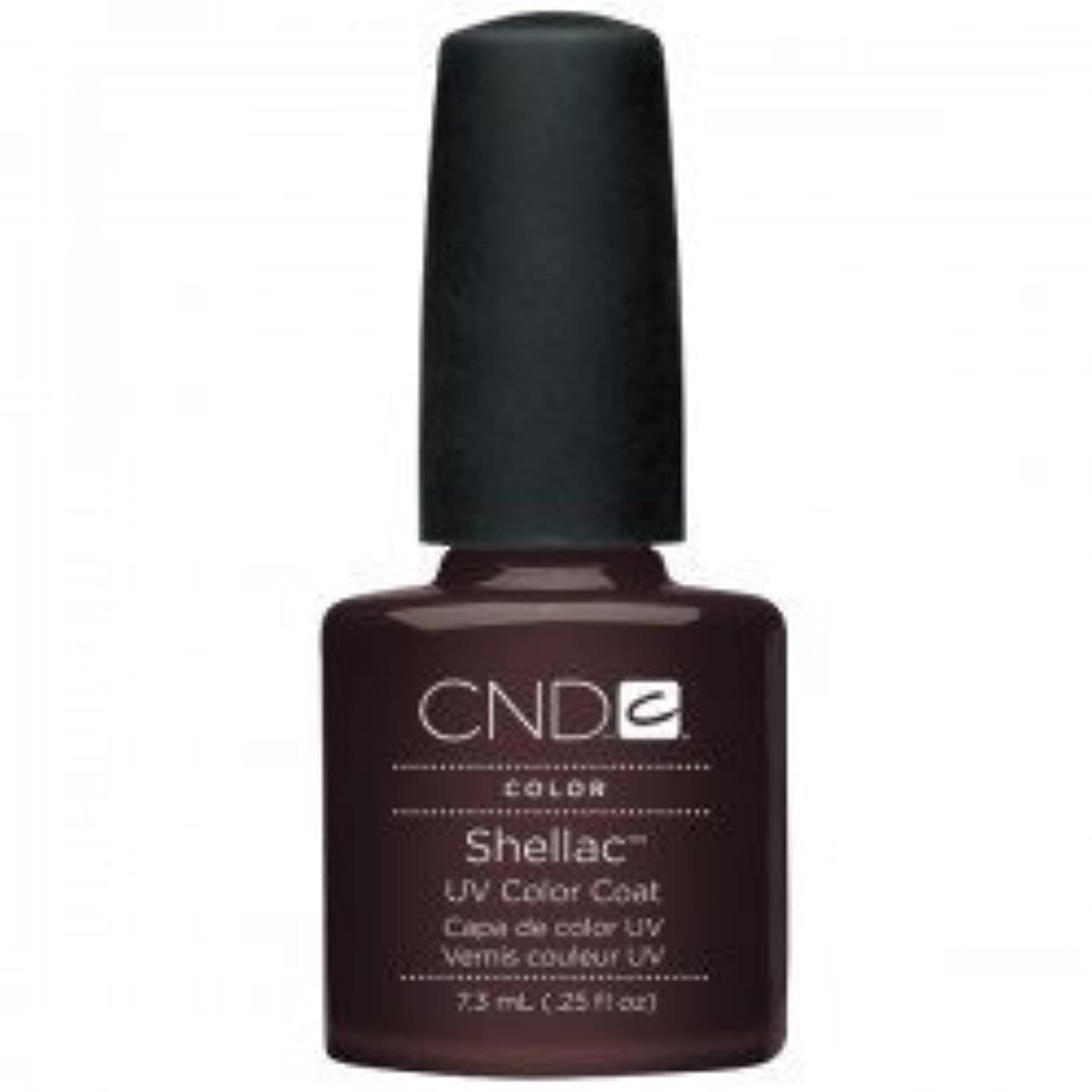 添加協同シュートNew CND Creative Shellac UV3 Nail Power Polish - Fedora 7.3ml by CND Creative Nail Designs