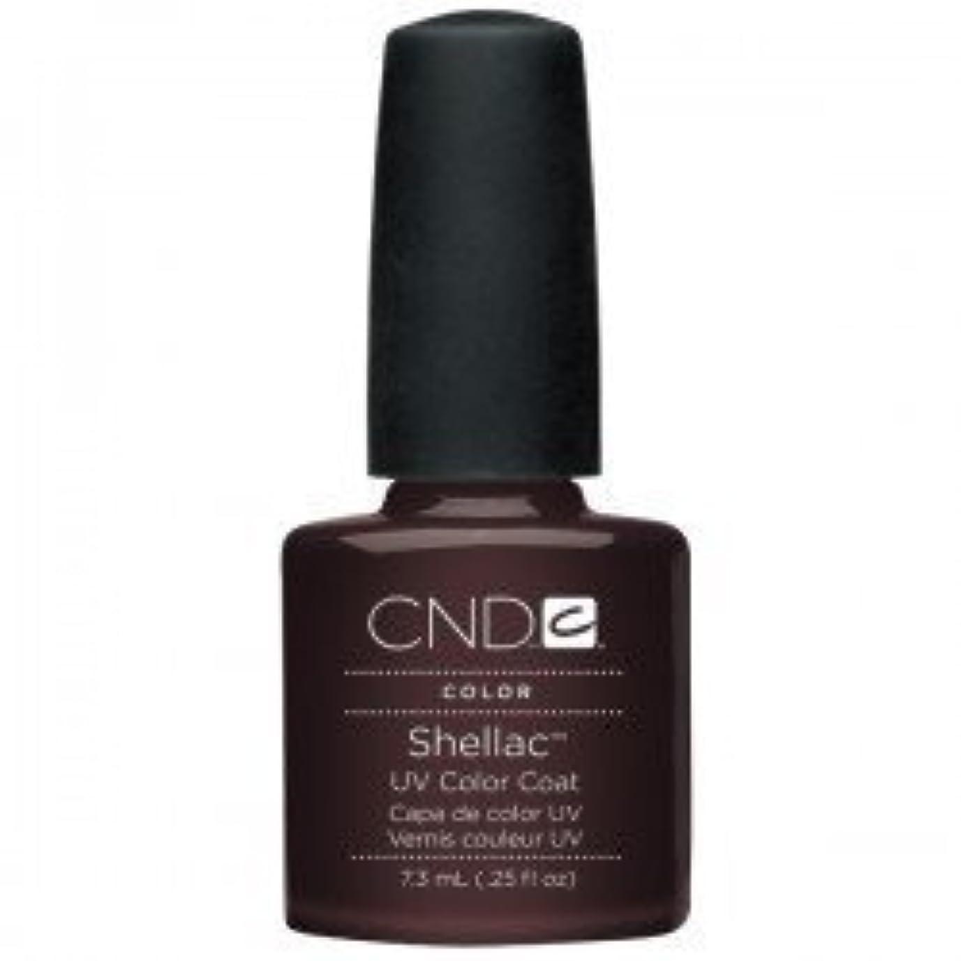不和退屈な黒New CND Creative Shellac UV3 Nail Power Polish - Fedora 7.3ml by CND Creative Nail Designs