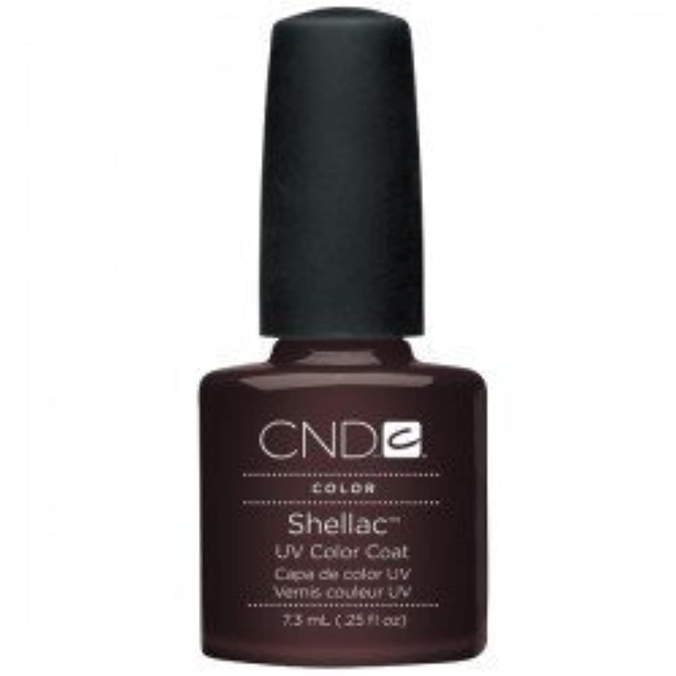 退屈させるスクレーパーペネロペNew CND Creative Shellac UV3 Nail Power Polish - Fedora 7.3ml by CND Creative Nail Designs