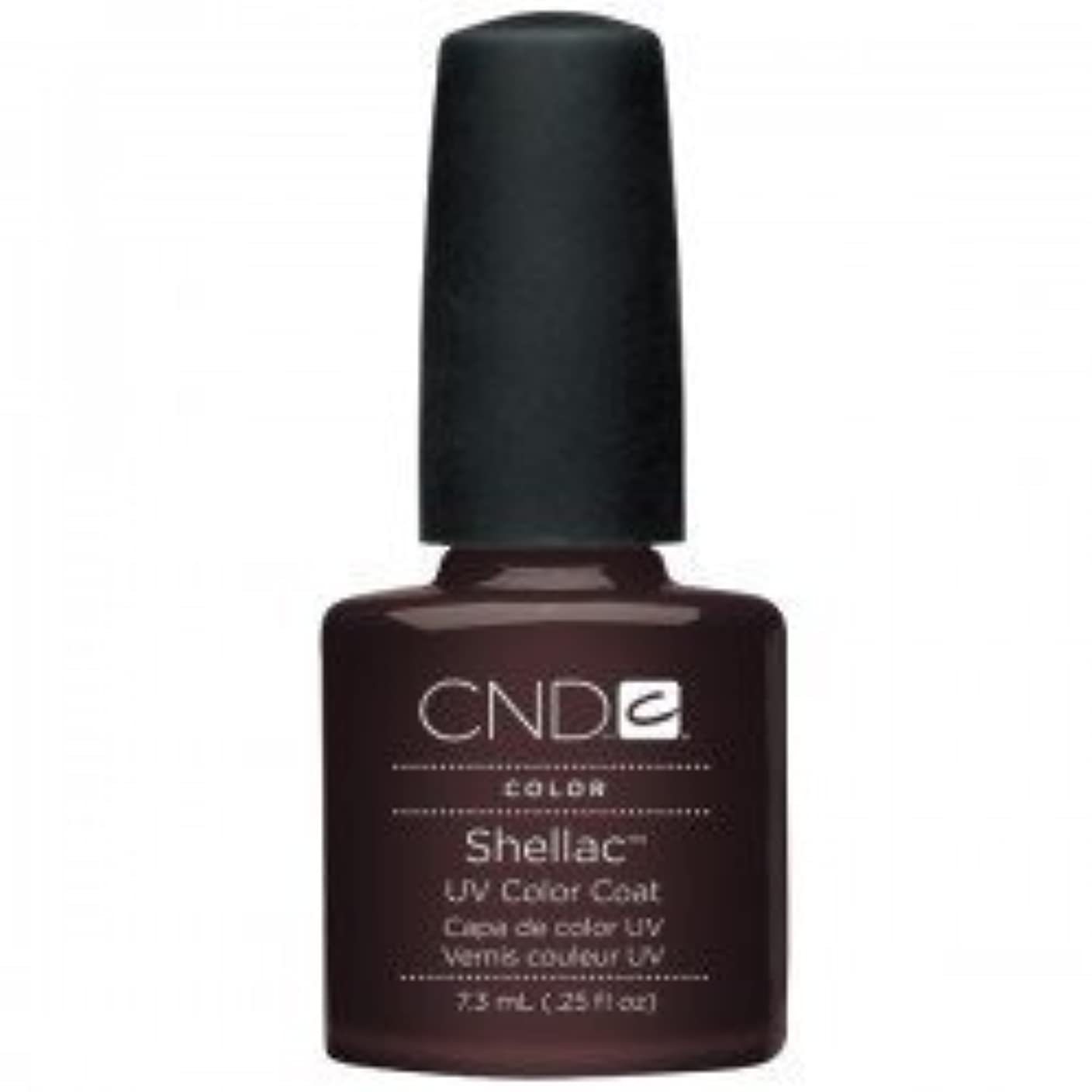 プランター予防接種立ち寄るNew CND Creative Shellac UV3 Nail Power Polish - Fedora 7.3ml by CND Creative Nail Designs